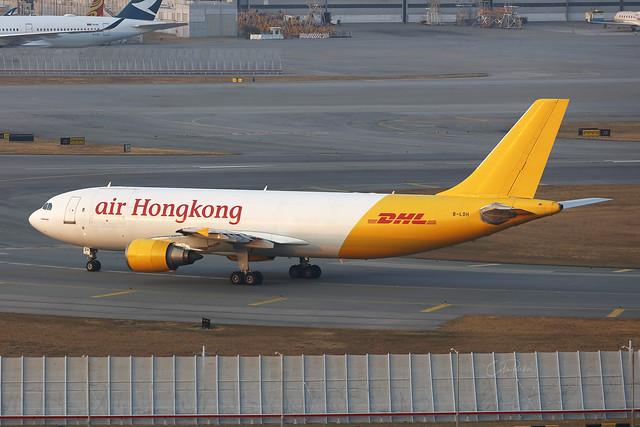 B-LDH, Airbus A300F, Air Hong Kong, Hong Kong