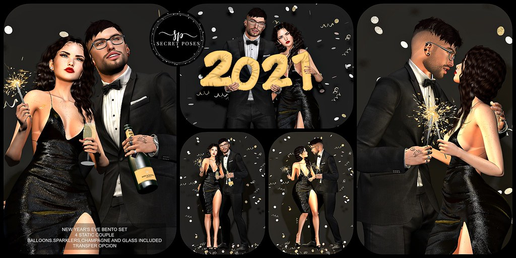 Secret Poses – New Year's Eve @Shiny Shabby