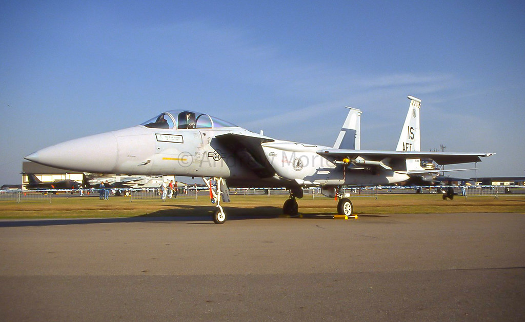 57FIS F-15C at Air Pageant 1991.