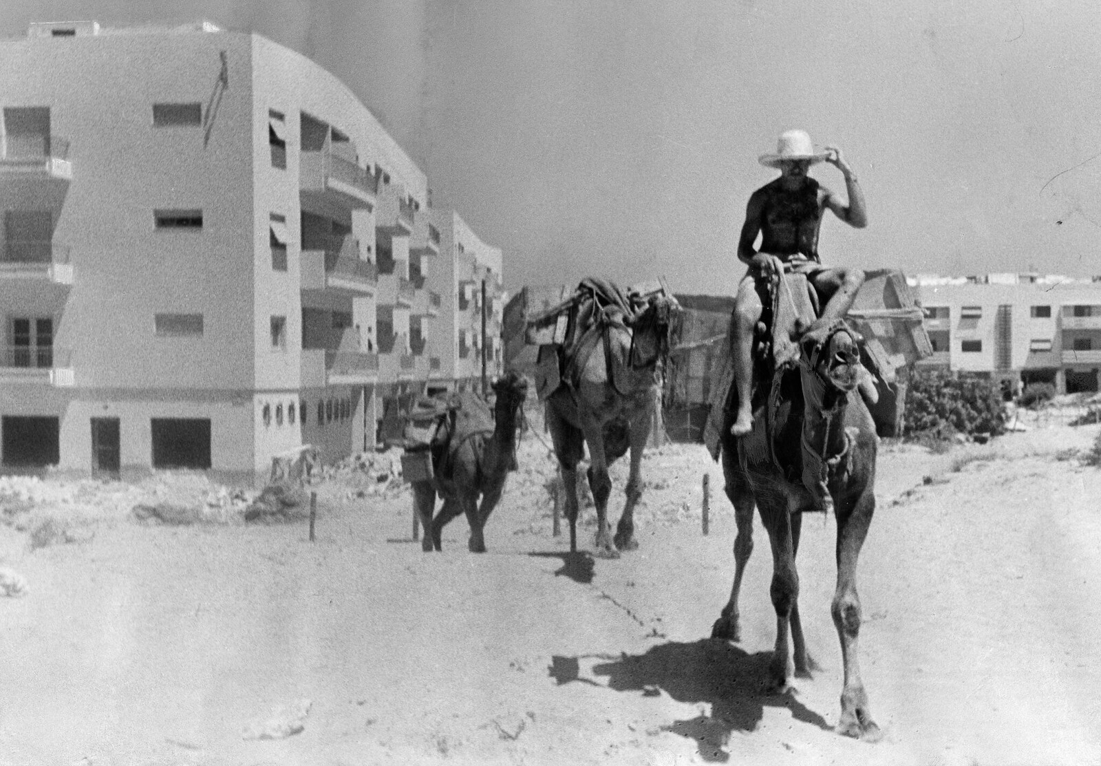 18. Новые дома для еврейского населения в Тель Авиве