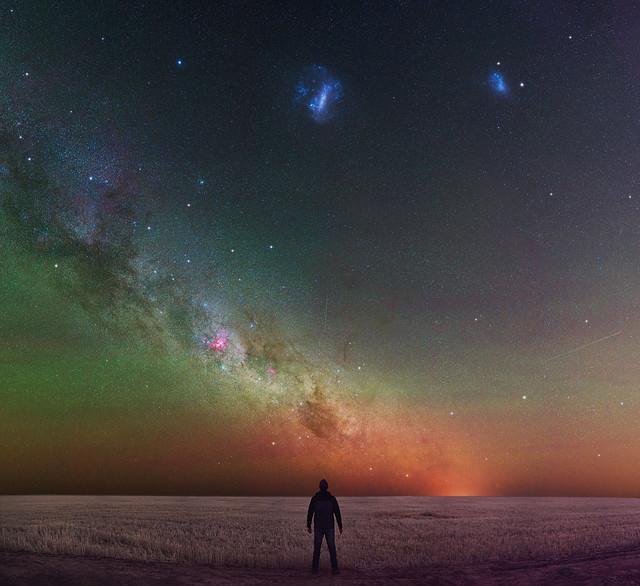 Carina & the Magellanic Clouds at Northam, Western Australia