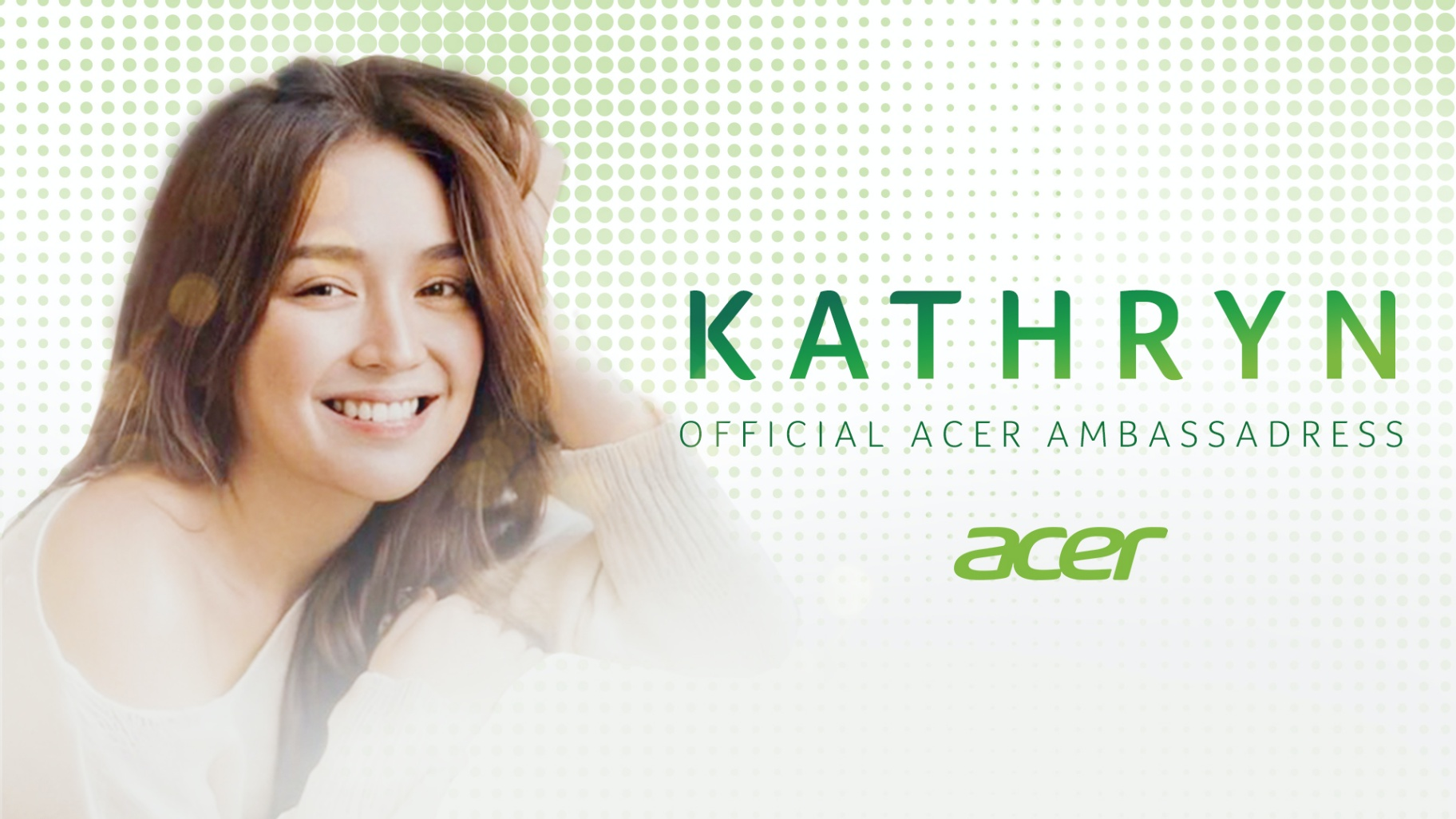 Kathniel for Acer Celebrities Flock in Acer's New Holiday Music Video