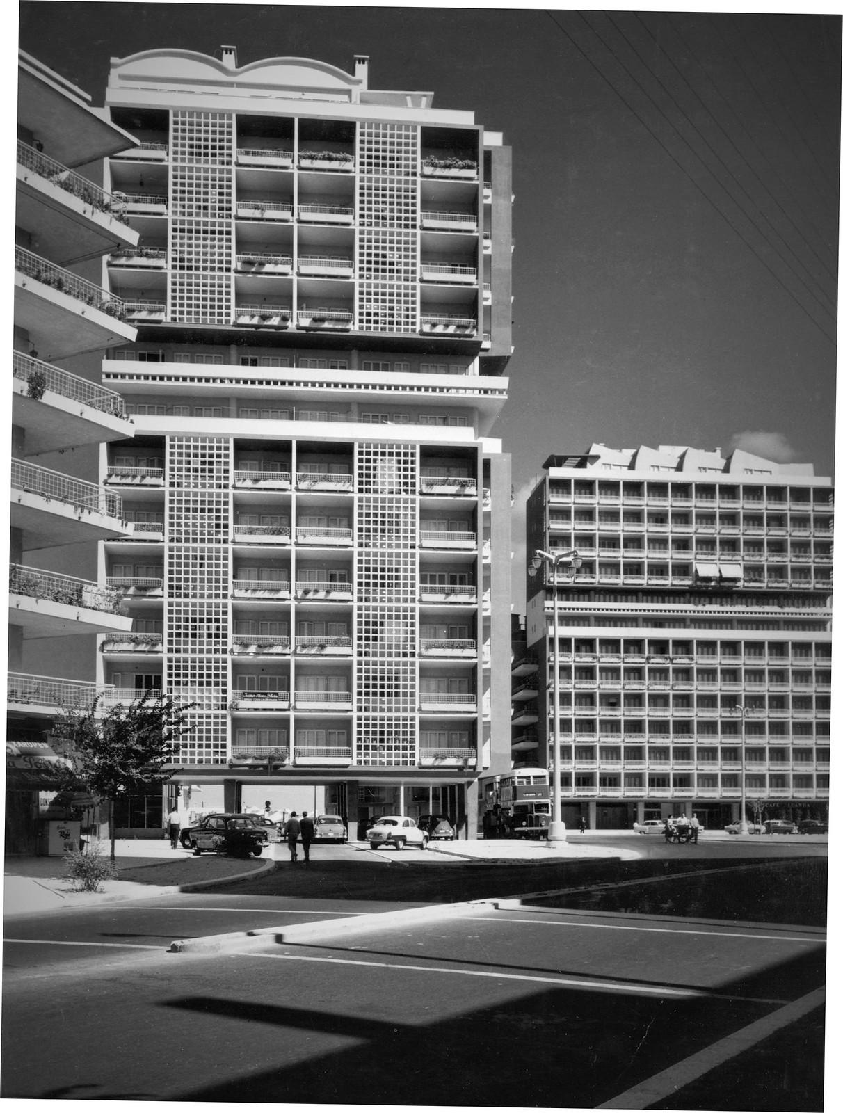 Av. de Roma, Lisboa (A. Serôdio, 1963)