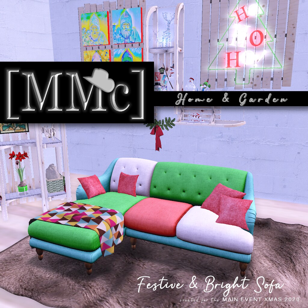 MMc Festive Sofa Ad for ME