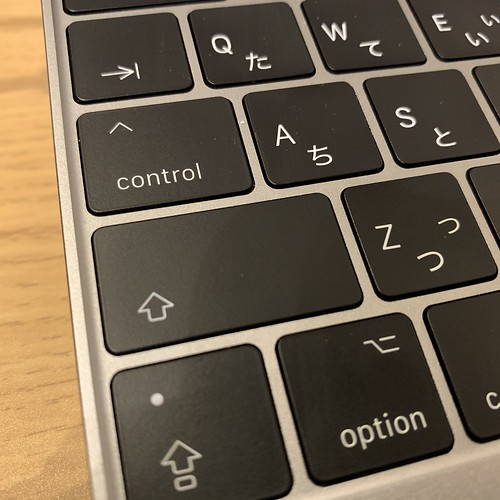 MacBook Retina ,12-inch, 2017のキートップ