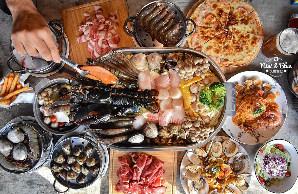 8德司 義大利麵 個人蒸煮海鮮塔鍋34