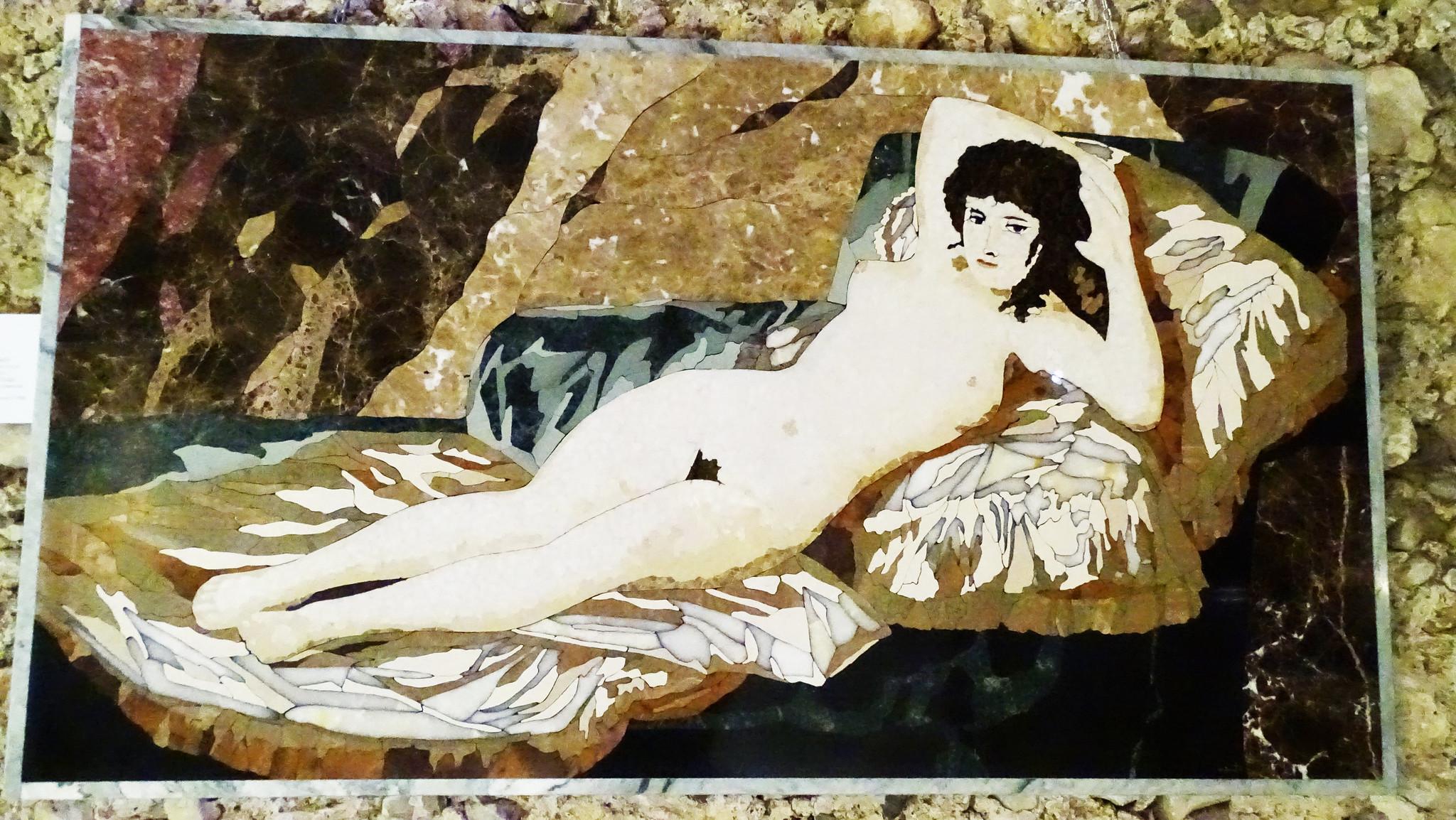 La pittura di pietra, dell'artista Enrico Pinto