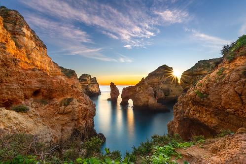 seascape sunrise praia beach longexposure algarve lagos crb201220