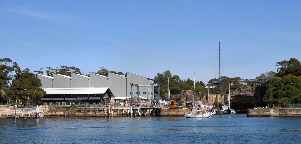Woolwich Dock, Woolwich, Sydney, NSW.