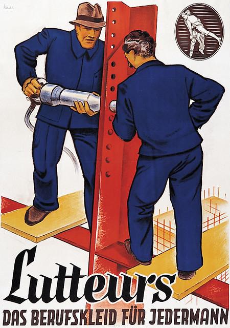 LUTTEURS - 1932