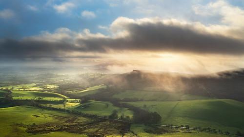 hope bowdler hill shropshire hills caer caradoc morning nikon z5 sunrise golden hour