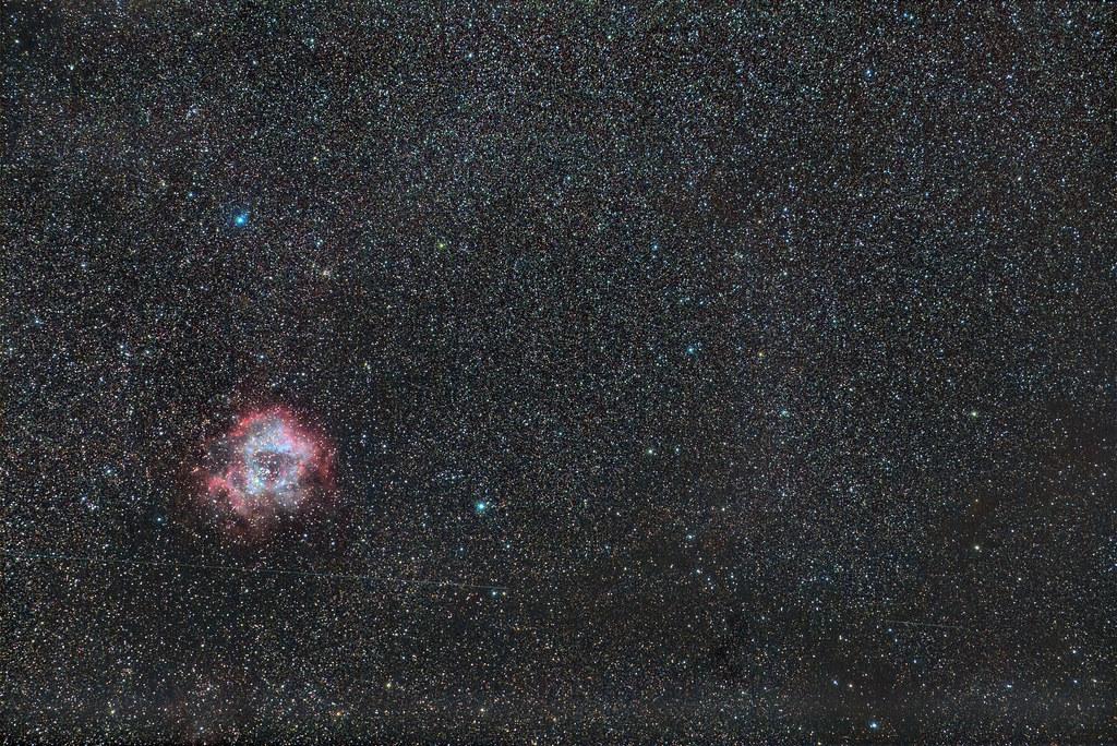 NGC 2246 The Rosette Nebula