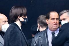 Batman filming Robert Pattinson and Colin Farrell as the Penguin