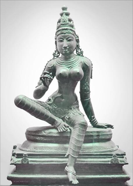 Boga Shakti, la Mère universelle (Tanjore, Inde)