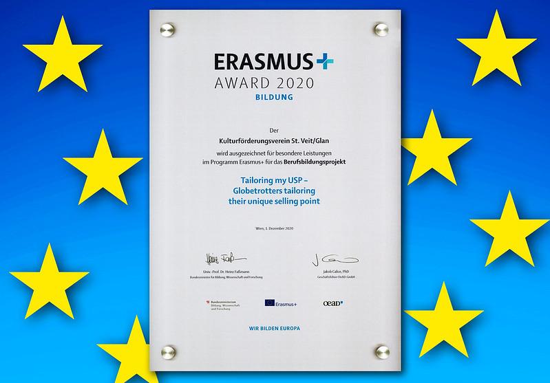 Erasmus Award 2020