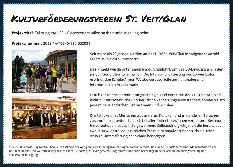 Erasmus Award 2020 Onlinebericht
