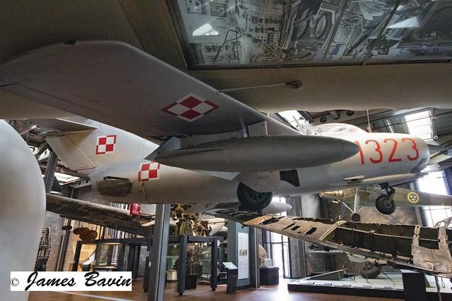 1323  MiG-15-Lim-2 Polish Air Force