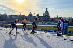 Češi v Drážďanech při team sprintu dvakrát v top 10