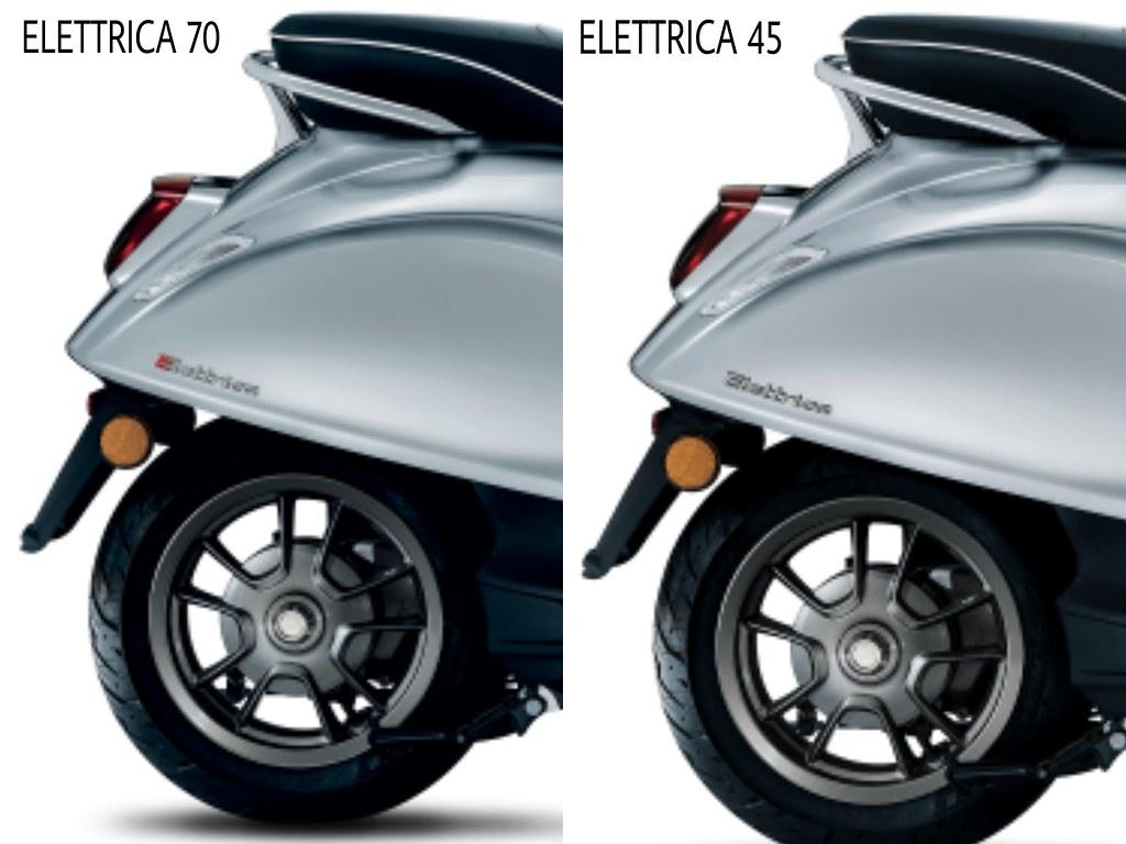 Vespa Elettrica Emblem 45 & 70