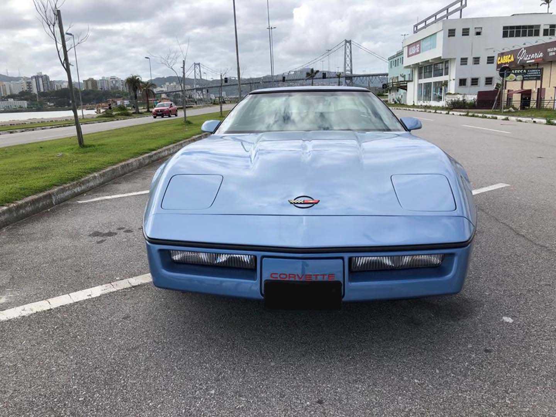 Corvette 1984 C4 Azul