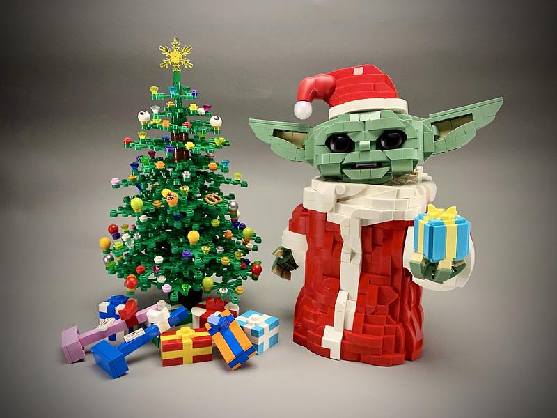 Lego Baby Yoda Christmas ????