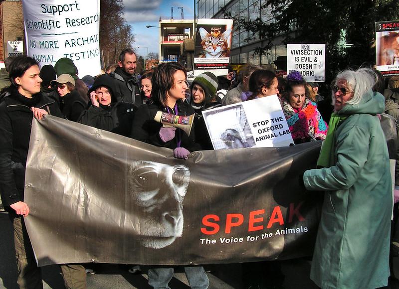 SPEAK Protest: Pro-Test