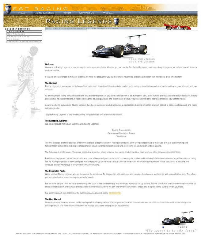 Racing Legends Concept