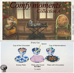 New release : Comfy Moments Collection A