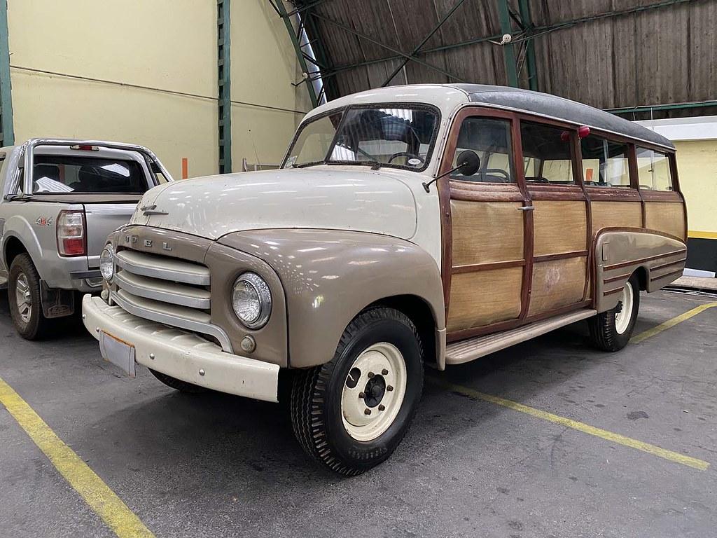 Opel 1954 Blitz Station Wagon