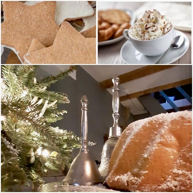 Kerstkoekjes tulband warme chocolademelk