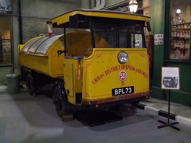 1934 Shelvoke and Drewry LTD Dustcart at Bressingham