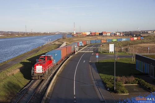 6512 . DB Cargo . Z 65400 . Hermalle sous Argenteau . 18.12.20.