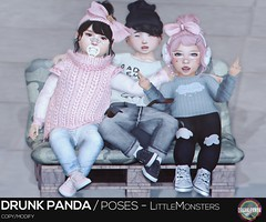 Drunk Panda - LittleMonsters