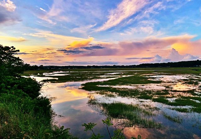 Connecticut Seascapes and Sunsets #102