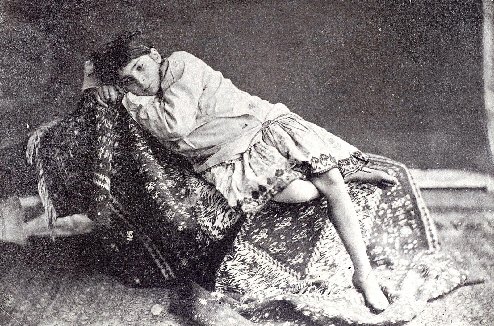 Иранская девочка
