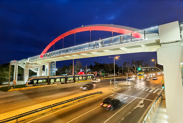 new footbridge in our city