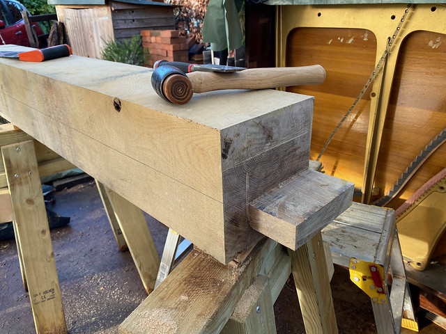 Front short post haunched tenon - 3