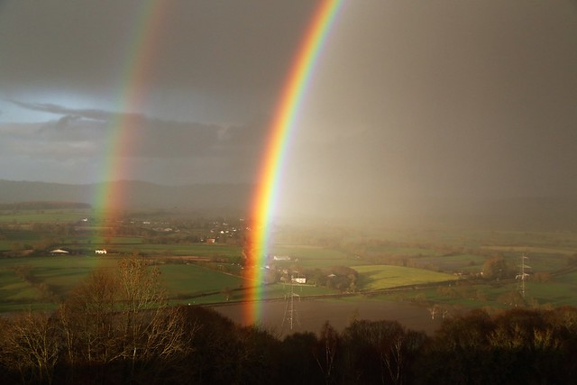 Exe Valley rainbow