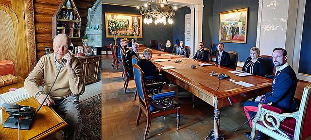Noorse Koninklijk Huis geeft foto's vrij van Raad van State tussen 13 maart tot en met 7 mei 2020