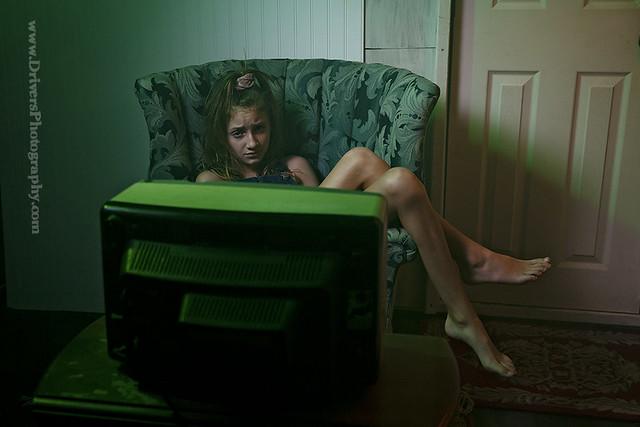 """Anastasia Potapov in """"Bulleye is in Lockdown"""""""