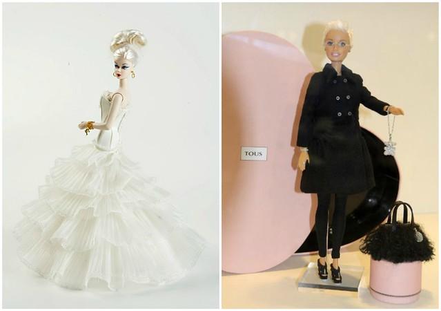 Barbie Rosa Clará y Barbie Tous