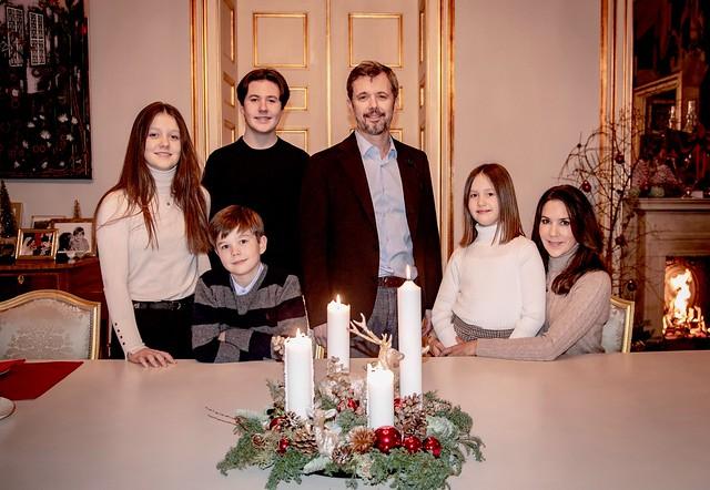 Kerstgroet Deens Kroonprinselijk gezin (2020)