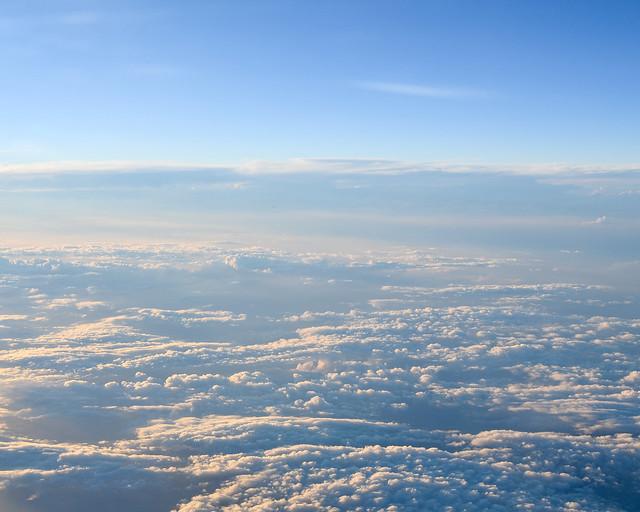 Nubes desde un avión