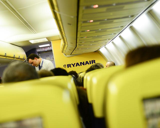 Anécdotas de azafatas de Ryanair