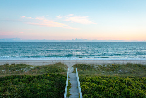 beach waves serene emeraldisle northcarolina canon 70d ocean sunset landscape sea