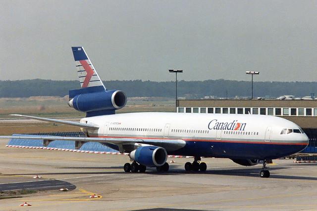 Canadian Douglas DC-10-30 C-GCPC / FRA, September 1993