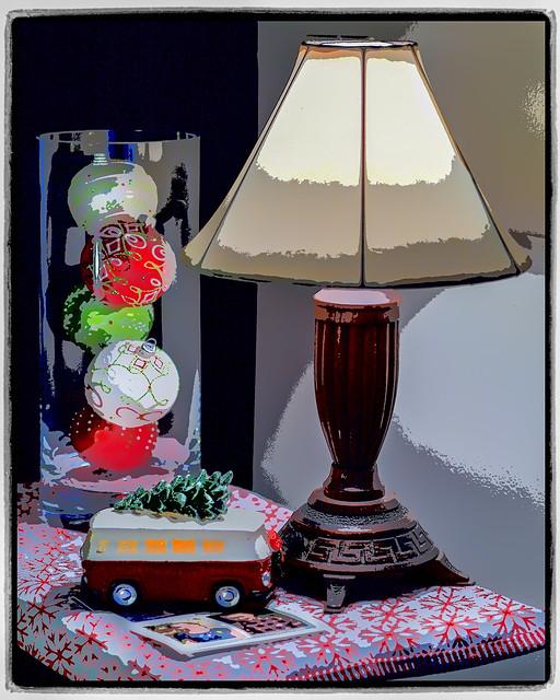 Bus, Balls & Lamp