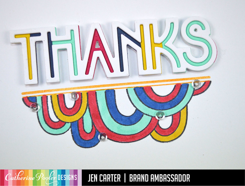 Beautiful New Year Jen Carter Classy Trims Decor Thanks Rainbow Mod Strips Closeup