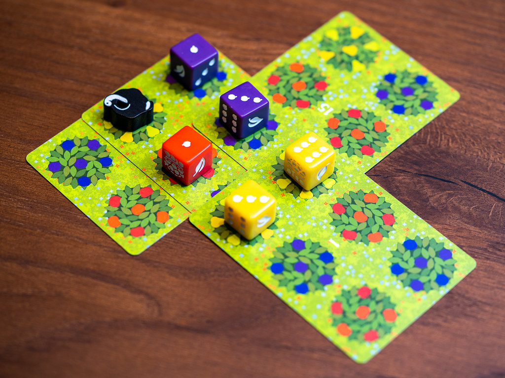 Orchard boardgame juego de mesa