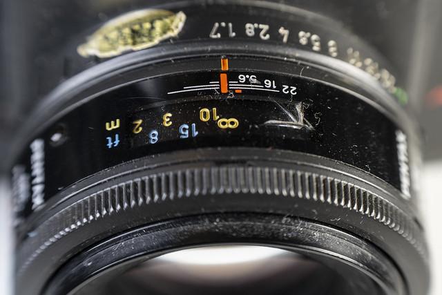 Pentax SMC F 50mm f/1.7 (AF)